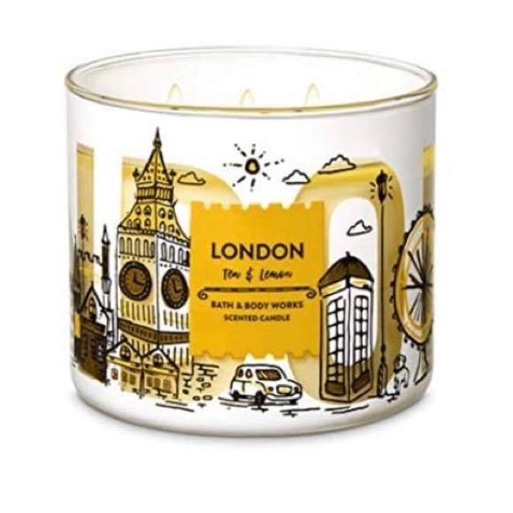 Bath & Body Works London Tea & Lemon Candle